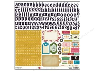 Crate Paper ABC & 123: Crate Paper Stickers Random Alpha Labels