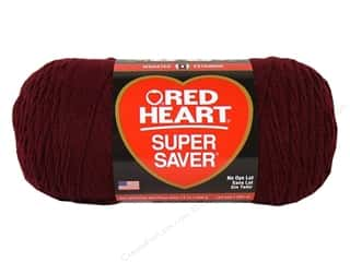 Red Heart Super Saver Jumbo Yarn #378 Claret 14 oz.