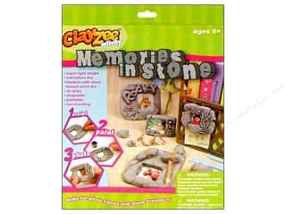 Clayzee Kit Memories In Stone Picture Frame