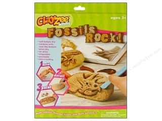 Clayzee Kit Fossils Rock Dinosaur Fossils
