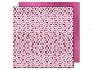 Doodlebug Paper 12x12 Sweet cakes Candy Hearts (25 sheets)