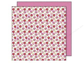 Doodlebug Paper 12x12 Sweet cakes Berry Sweet (25 sheets)