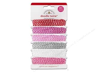 Doodlebug Doodle Twine Sweet cakes Valentine 6pc
