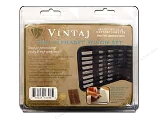 Stamping Ink Pads Beading & Jewelry Making Supplies: Vintaj 3 mm Alphabet Punch Set 27 pc. Uppercase