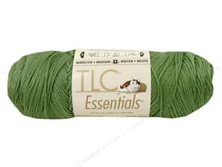 Clearance C&amp;C TLC Essentials Yarn: TLC Essentials Yarn 6oz Medium Thyme 312yd