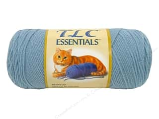 Clearance C&C TLC Essentials Yarn: C&C TLC Essentials Yarn 6oz Paradise Blue 312yd