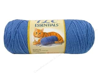 Clearance C&C TLC Essentials Yarn: C&C TLC Essentials Yarn 6oz Medium Lake Blue 312yd
