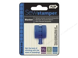Straight Stitch We R Memory Stamper: We R Memory Sew Stamper Blanket Black
