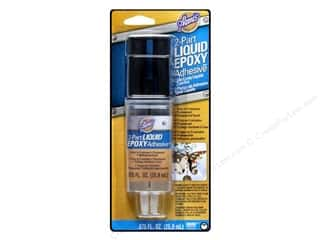 Glue and Adhesives: Aleene's 2-Part Liquid Epoxy Adhesive 7/8 oz.