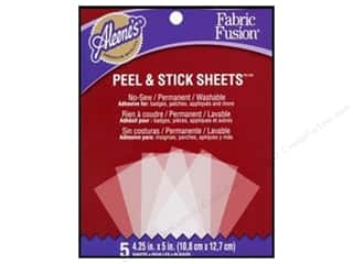 Aleene's Fabric Fusion Sheets Peel & Stick 5pc