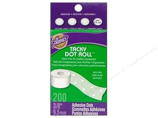 "Stock Up Sale Adhesive: Aleene's Dry Adh Tacky Roll Medium Dot 3/8"" 200pc"
