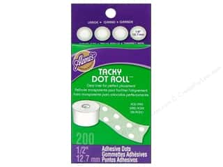 "Stock Up Sale Adhesive: Aleene's Dry Adh Tacky Roll Large Dot .5"" 200pc"