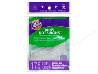 Aleene&#39;s Dry Adh Tacky Dot Singles Sm3/16&quot; 175pc