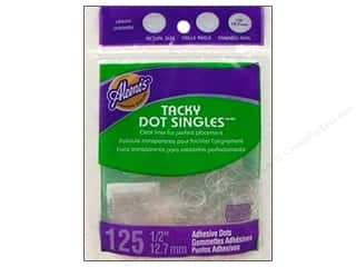 "Stock Up Sale Adhesive: Aleene's Dry Adh Tacky Dot Singles Lg .5"" 125pc"