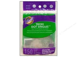 "Stock Up Sale Adhesive: Aleene's Dry Adh Tacky Dot Singles Med 3/8"" 150pc"