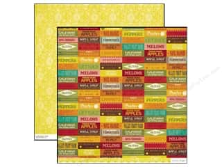 Crate Paper Farmhouse Produce 12 x 12 in. (25 sheets)