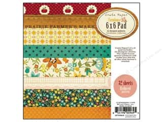 "Crate Paper Paper Pad 6""x 6"" Farmhouse"