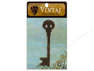 Vintaj Blanks Manor Key Nat Brass