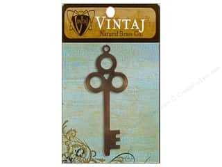 Vintaj Blanks Primitive Key Nat Brass