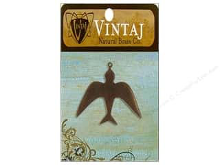 Vintaj Blanks Skyward Bird Nat Brass