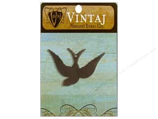 Vintaj Blanks Songbird Nat Brass