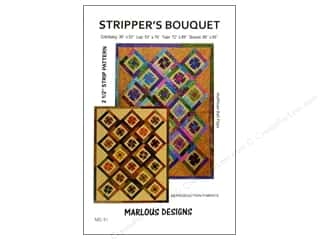 Bits 'n Pieces Quilting Patterns: Marlous Designs Stripper's Bouguet Pattern