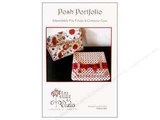 Files Punch Studio File Folder: Jillily Studio Posh Portfolio Pattern