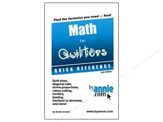 Math For Quilters Book