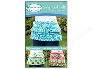 Vanilla House Quilting Patterns: Vanilla House Girly Tool Belt Apron Pattern