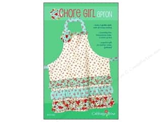 Cabbage Rose Chore Girl Apron Pattern