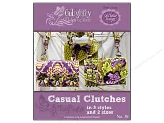 Tote Bag Flowers: Golightly Sewing Studio Casual Clutches Pattern
