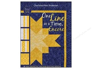 Design Originals $8 - $14: C&T Publishing One Line At A Time Encore Book by Charlotte Warr Andersen