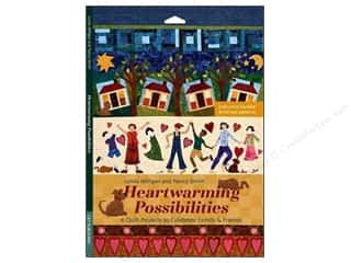All American Crafts Publishings $12 - $14: C&T Publishing Heartwarming Possibilities Book by Lynda Milligan and Nancy Smith