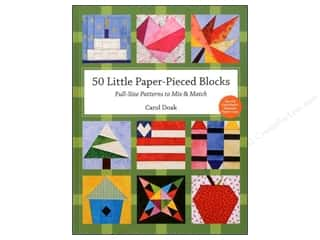 C&T Publishing 50 Little Paper Pieced Blocks Book