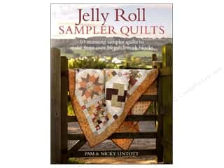 Annies Attic Fat Quarter / Jelly Roll / Charm / Cake Books: David & Charles Jelly Roll Sampler Quilts Book