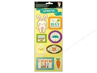 Spring Stickers: Imaginisce Stickers Hippity Chip Bunny Day (3 packages)