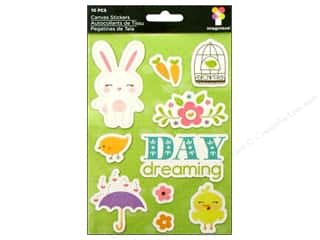 Imaginisce Stickers Hippity Canvas Day Dreaming (3 packages)