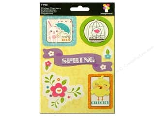 Imaginisce Stickers Hippity Stacker Rainy Day (3 packages)
