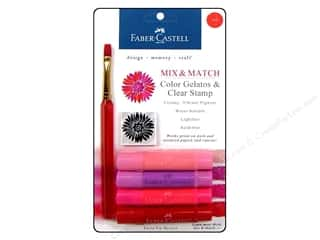 Faber Castell Inks: FaberCastell Gelatos Color Set 4 pc. Red