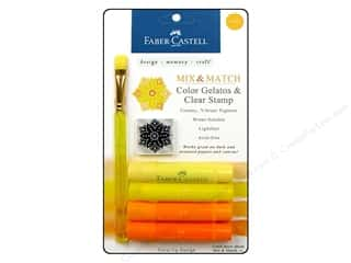 Faber Castell Inks: FaberCastell Gelatos Color Set 4 pc. Yellow