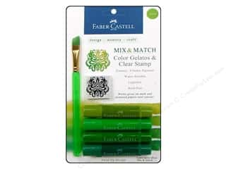 Painting Inks: FaberCastell Gelatos Color Set 4 pc. Green