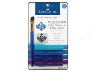 Faber Castell Inks: FaberCastell Gelatos Color Set 4 pc. Blue