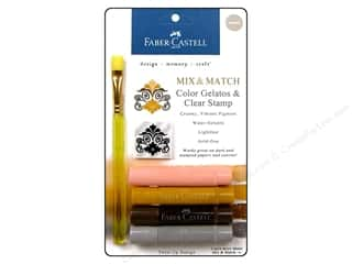 Faber Castell Inks: FaberCastell Gelatos Color Set 4 pc. Neutrals