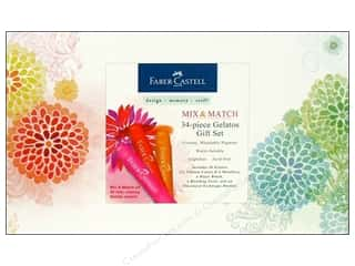 Gifts & Giftwrap paper dimensions: FaberCastell Gelatos Color Gift Set