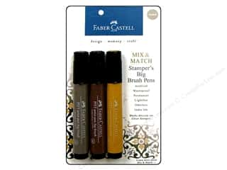 Weekly Specials Faber Castell: FaberCastell Stamper's Big Brush Pen Mix & Match Set Neutral