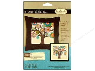 "weekly specials Dimensions Applique Kit: Dimensions Crewel Embr Kit 9.5""x 9.5"" Tree"