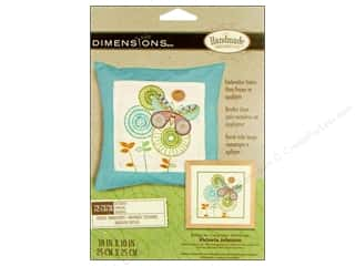 Dimensions Crewel Embr Kit 10&quot;x 10&quot; Butterfly