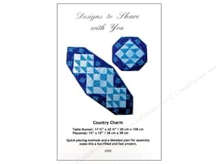 Designs To Share Home Decor Patterns: Designs To Share Ursula Riegel Country Charm Pattern