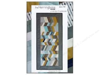 Patterns Clearance $0-$3: The Herringbone Runner Pattern