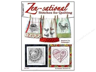 Design Originals Flowers: Design Originals Zen-Sational Stitches For Quilting Book